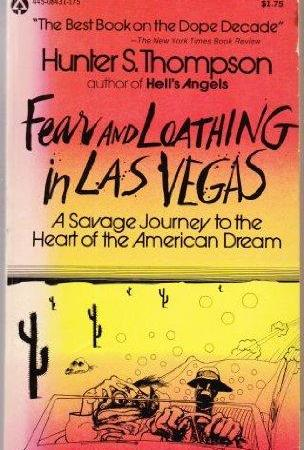 Cover art for Fear and Loathing in Las Vegas by Hunter S. Thompson